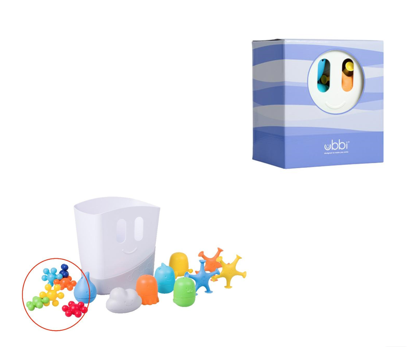 Recalled Ubbi Bath Top Gift Set