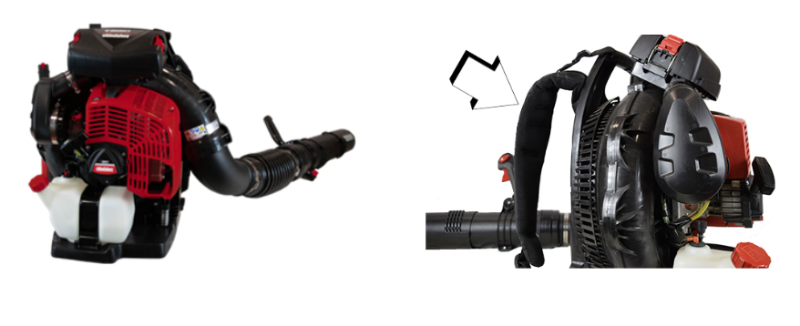 Recalled Shindaiwa EB810 Blower and Shoulder Straps