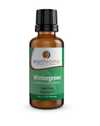 Recalled Earthroma Wintergreen Oil 30ml (front)
