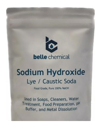 Recalled Sodium Hydroxide Lye/Caustic Soda (1 pound bag)
