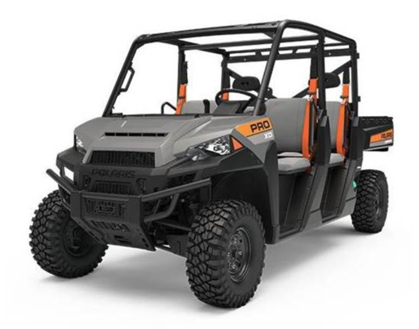 Recalled 2019 Polaris PRO XD 4000D AWD