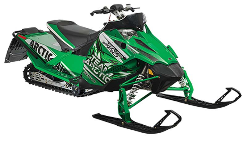 image of Arctic Cat snowmobiles, Model Year 2014 Arctic Cat 500 Sno Pro, model numbers S2014ACCPRUSG and S2014ACCPRPVG