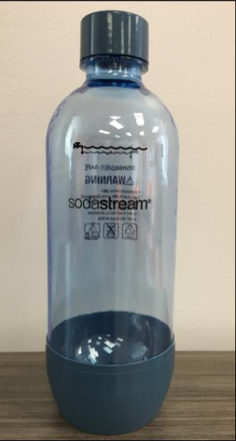 Recalled SodaStream carbonating bottles