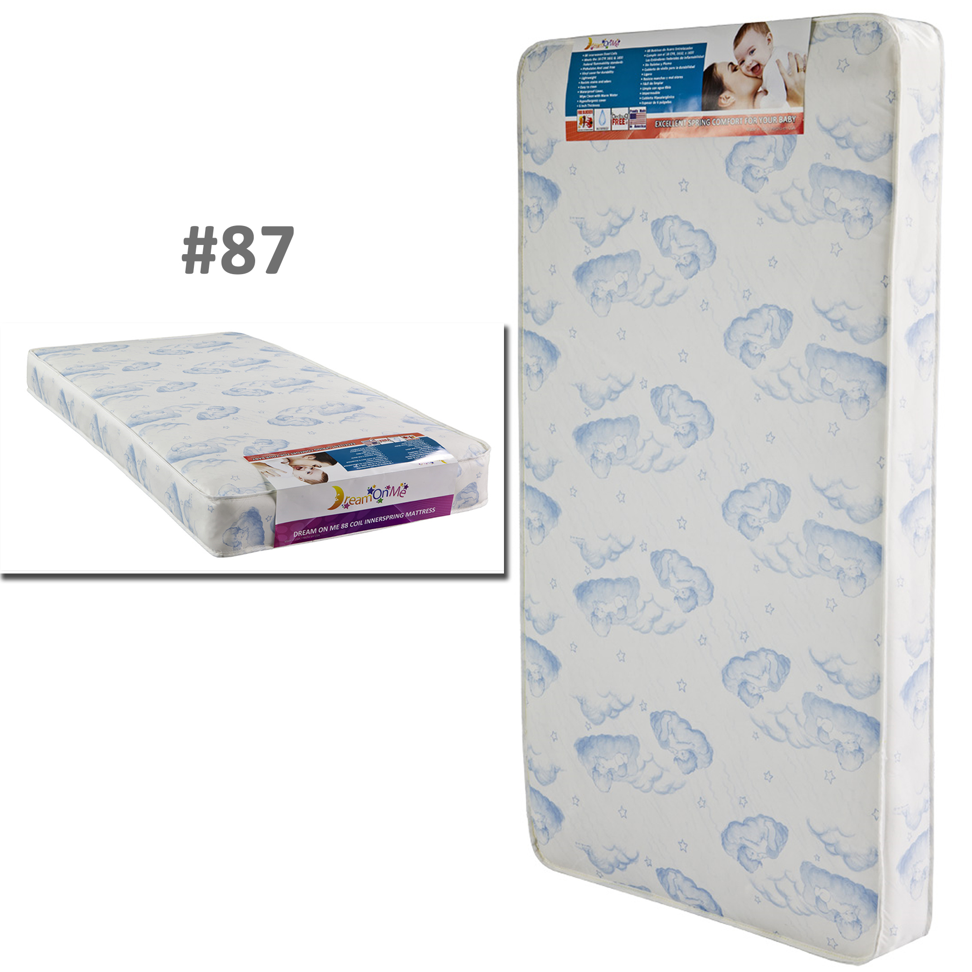 sprung bed img kiddicare x toddler micro category asleep mattress sound mattresses cot