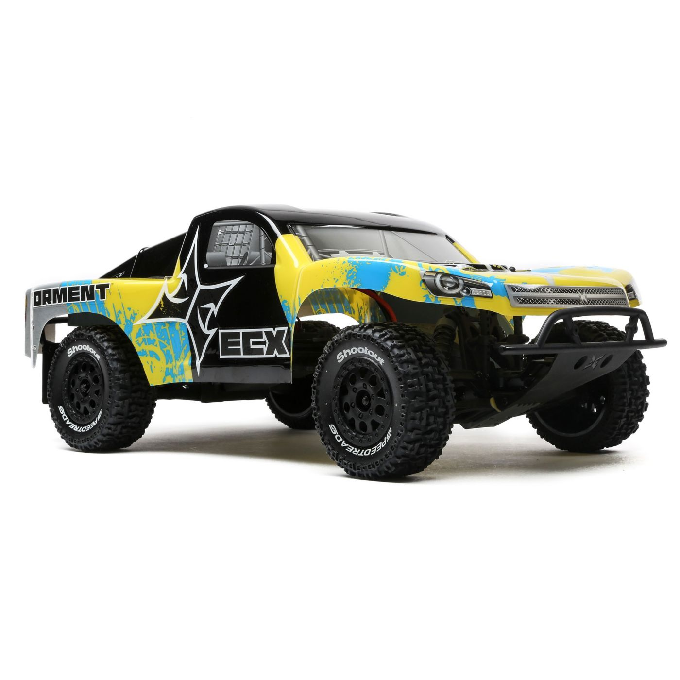 ECX03133T2 ECX 1/10 Torment 2WD LiPo Yellow/Blue
