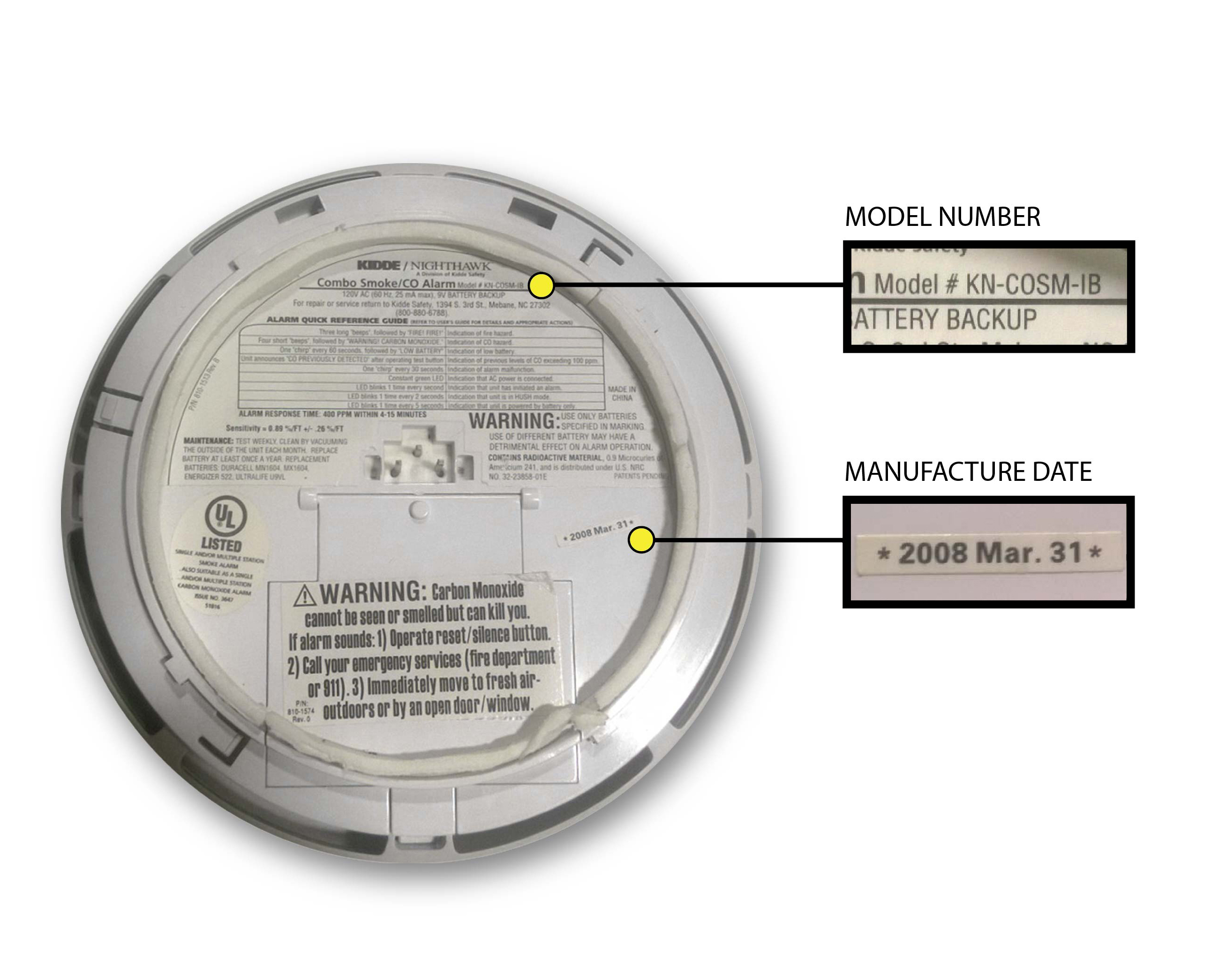 Kidde Recalls Combination Smoke Co Alarms Due To Alarm Failure