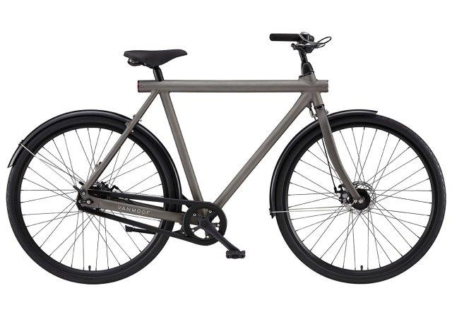 VanMoof S-series city bicycles: 8 speed diamond frame without integrated lock