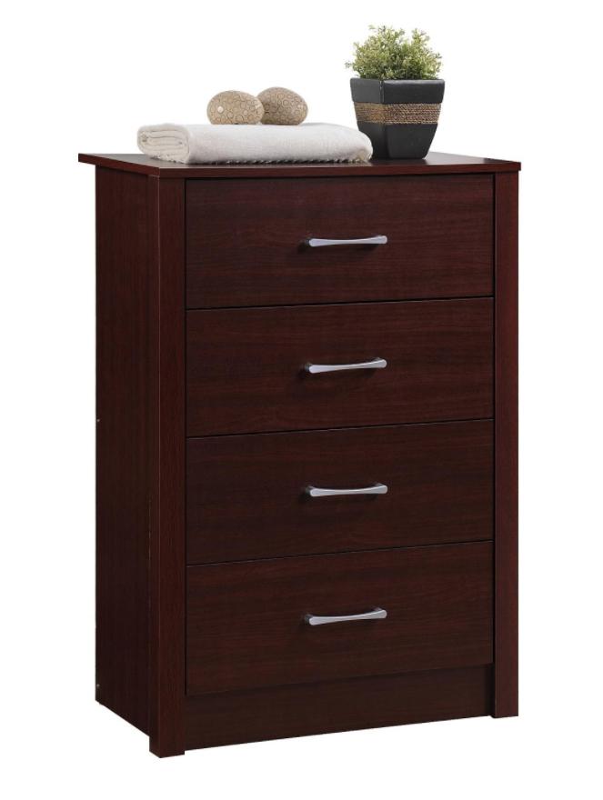 Recalled Hodedah HI4DR 4-drawer chest