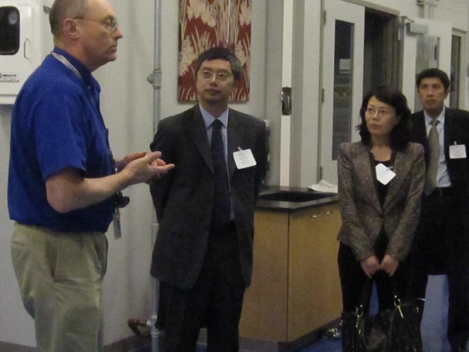 Yang Wanshan & Andrew Stadnik at CPSC's Laboratory