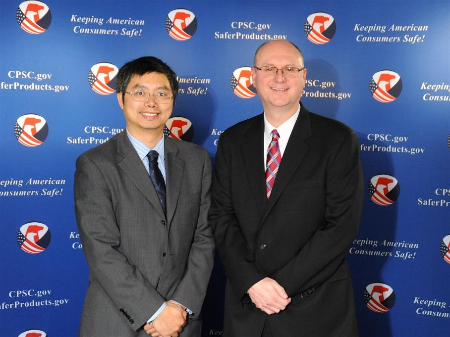 Mr. Jim Joholske & Mr. Yang Washan