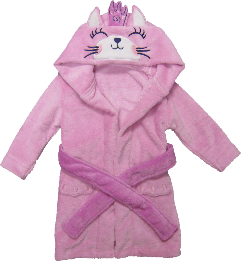 Kreative Kids cat children's robe