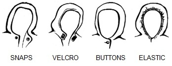 Clothing Fasteners