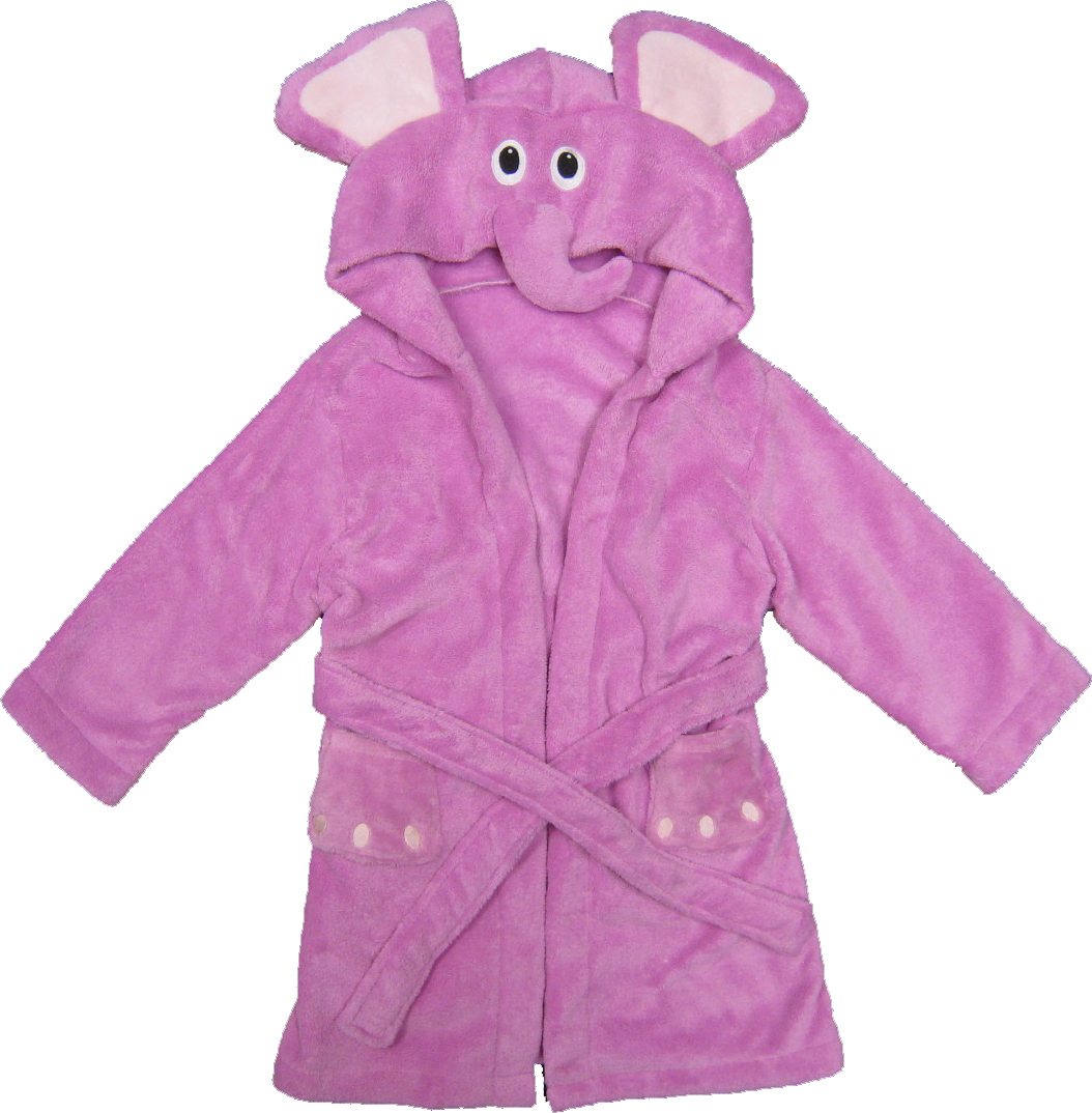 Kreative Kids elephant children's robe