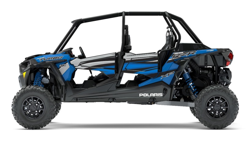 2018 Polaris RZR XP 4 Turbo in Velocity Blue