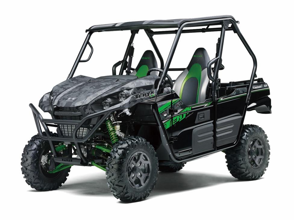 Recalled Kawasaki Teryx two-passenger ROV