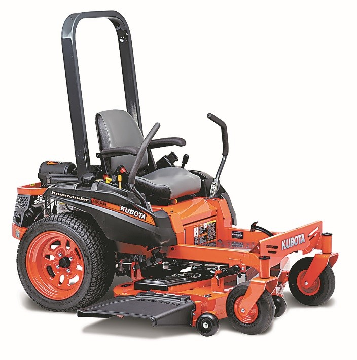 Recalled Kubota Z100 Series Zero Turn Mower