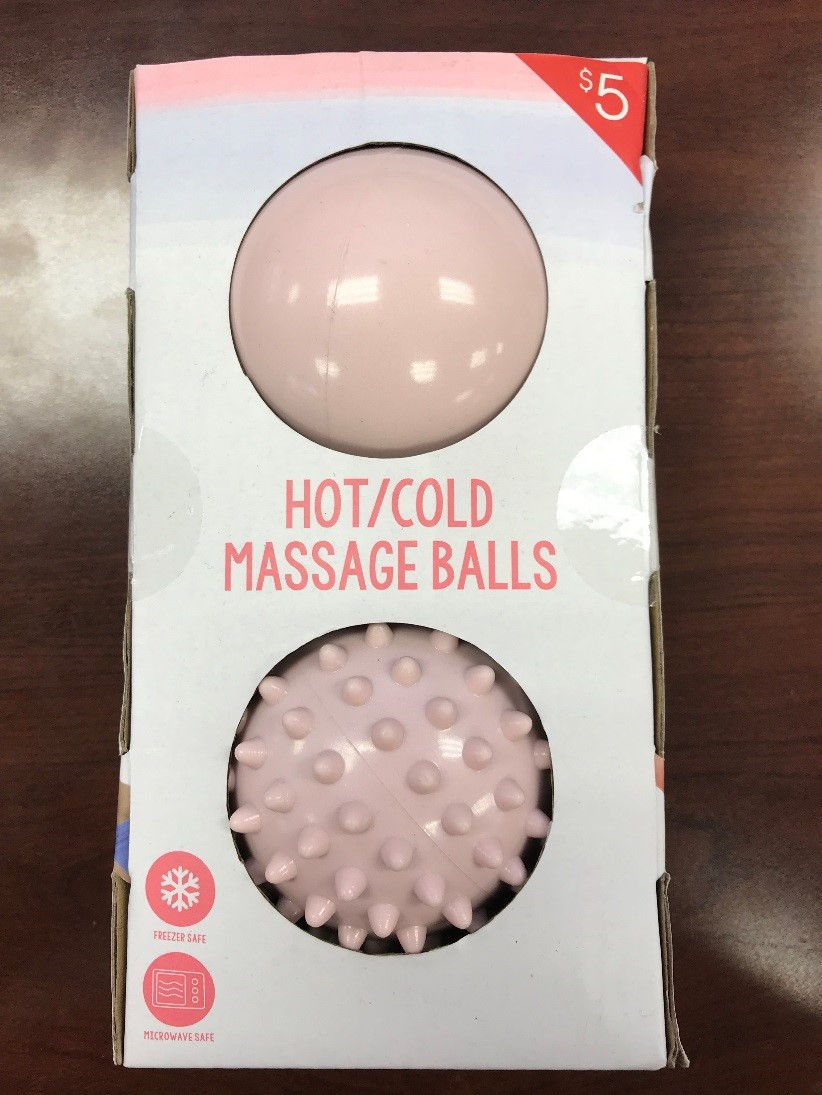 Recalled hot/cold massage balls