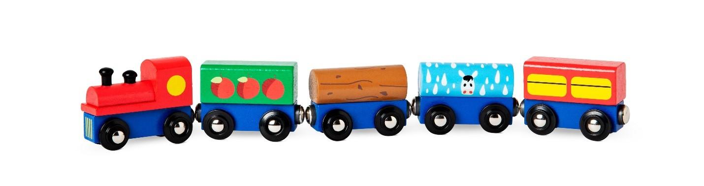 Recalled Wooden Train Cart