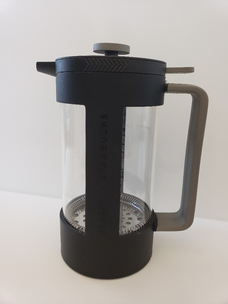 Recalled Starbucks' Bodum coffee press