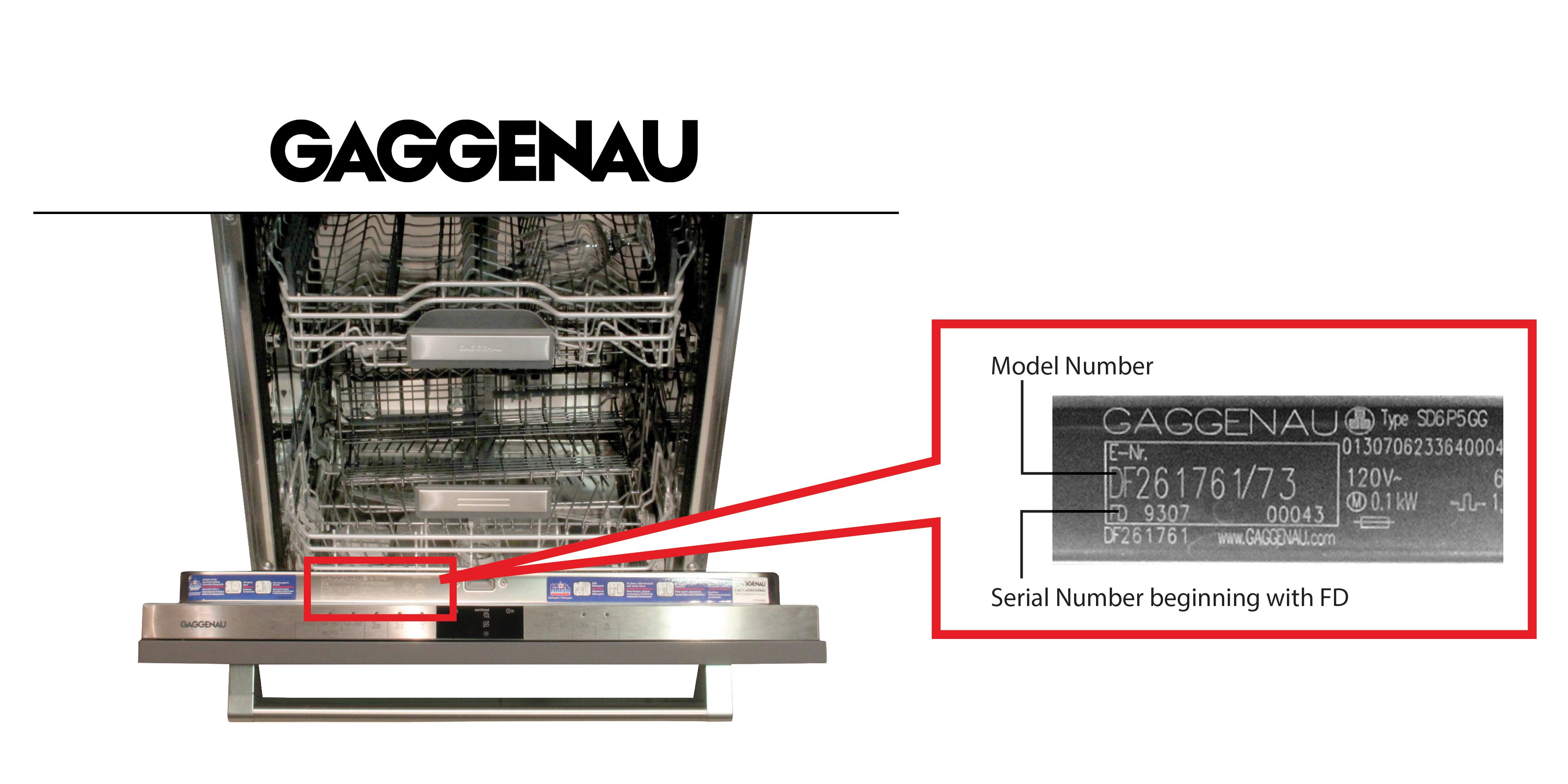 image of Bosch, Gaggenau, Jenn-Air and Thermador brand dishwashers