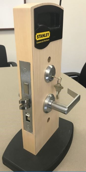 Stanley Commercial door locksets (side view)