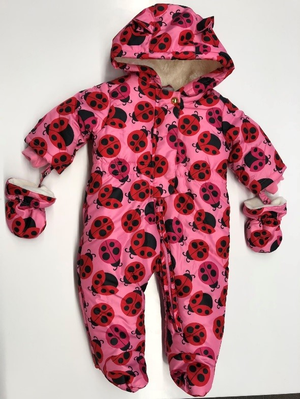 Recalled Jazzberry Ladybug Infant Girl's Snowsuit (Style #2111187)
