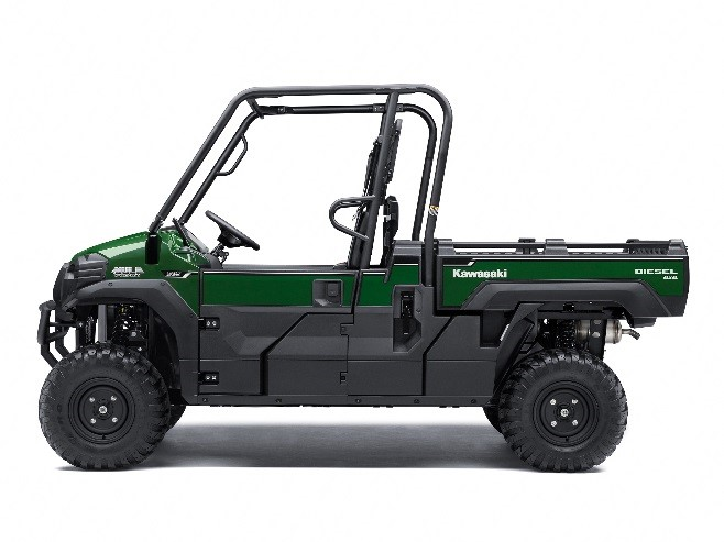 Recalled Kawasaki Mule Pro – green