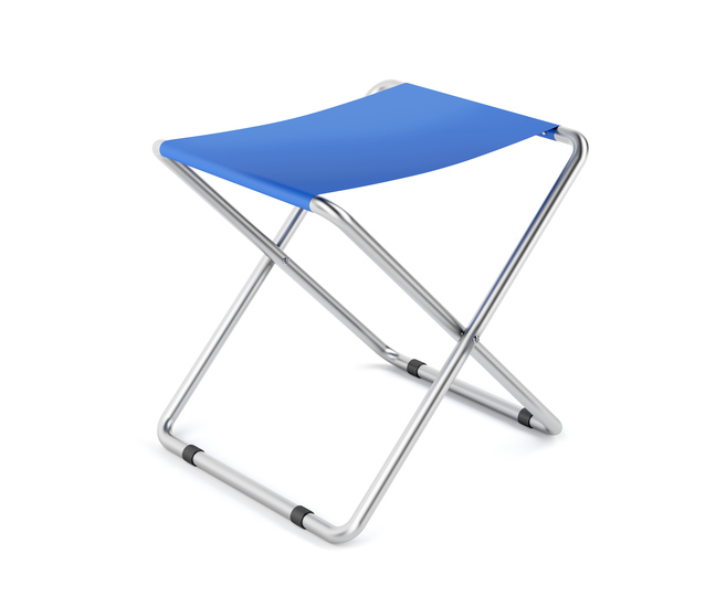 Example of children's folding stools