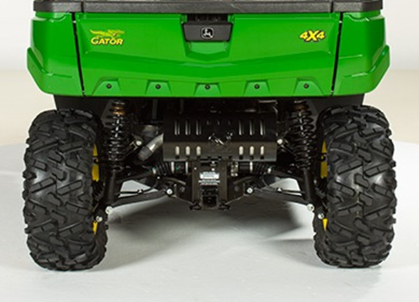 Serial number location (directly above rear hitch reciever) of recalled John Deere XUV590 Gator utility vehicles