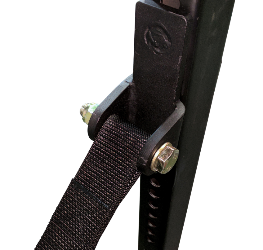 Strap Assembly with steel mount brackets