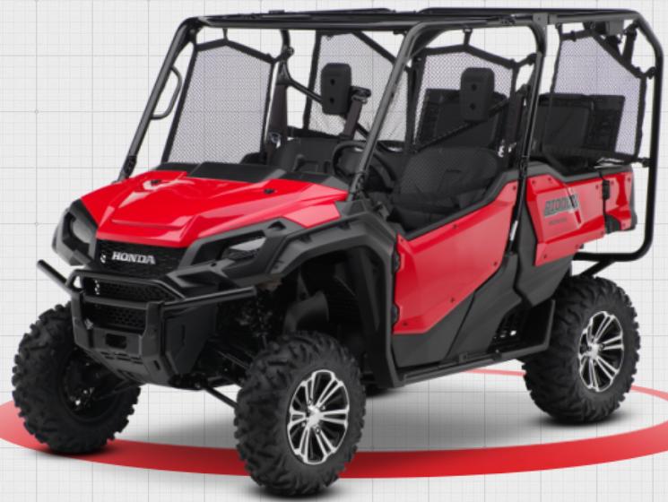 2016-2018 Model Year Honda Pioneer 1000 5P