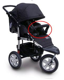 Picture of Recalled Tike Tech City X3 Sport Jogging Stroller