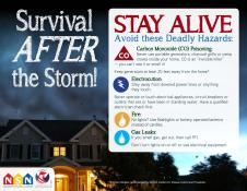Survival After the Storm!