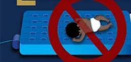 Los colchones de aire inflables pueden ser un peligro mortal