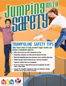 Trampoline Safety Tips Poster