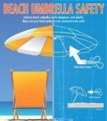 Seguridad con las sombrillas de playa