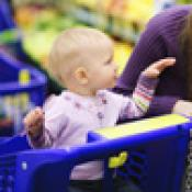 Children in Shopping Carts