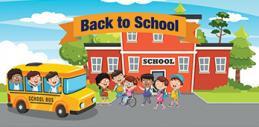Safety Rules, As You Head Back to School!