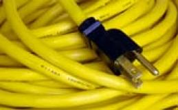 Cables de extensión domésticos pueden causar incendios