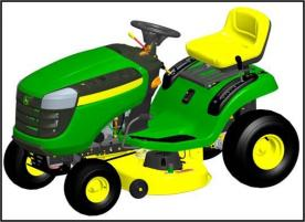 John Deere Recalls Lawn Tractors; Brake Failure Can Cause Loss of Control