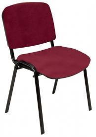 Oakmont burgundy stackable chair