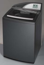 GE Profile™ top-loading clothes washer (gray)