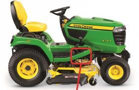 John Deere lawn and garden tractor