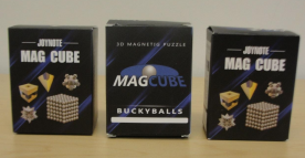 "Sobeauty Recalls ""Mag Cube"" Magnetic Ball Sets Due to Risk of Ingestion by Children That Could Cause Serious and Permanent Intestinal Injuries or Death (Recall Alert)"