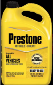 Prestone Products Recalls Antifreeze Due to Failure to Meet Child Resistant Packaging Requirements; Risk of Poisoning