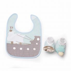 DEMDACO Recalls Infant Bib and Bootie Sets Due to Choking Hazard
