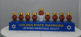 Golden State Warriors Menorahs Recalled by BDA Due to Fire and Burn Hazards (Recall Alert)