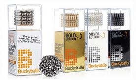 Buckyballs and Buckycubes High-Powered Magnet Sets