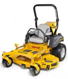 Picture of recalled Hustler Super Z lawnmower
