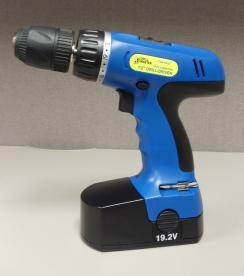 Left side view of the drill